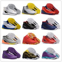 ankle sneakers - 2016 Cheap Sale Curry Men s Basketball Shoes for High quality Mens Sports Training Sneakers Size