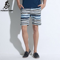 big basketball shorts - BIG Sale new fashion mens short pants striped casual beach pants summer style basketball shorts men outwear shorts cheap Price strip