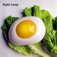 baby delicious - HL116 Authentic Delicious Poached Egg lamp Energy Conservation Lamp LED Night Light Baby Sleep Child Creative Fried Egg Light