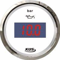 Wholesale 100 Brand New Kus Digital Fuel Pressure Gauge V V For Boat Automobile Motor Homes Universal Yacht Parts White