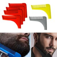 Wholesale 2016 Beard Bro Beard Shaping Tool Shaving Tool Beard Removal comb for Perfect Lines frame and Symmetry PRO SHAVING BEARD