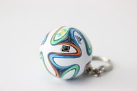 arm sporty - Simulation colorful football arm key chains Korea Sport Keyring World Cup souvenir Gifts store promotion gift