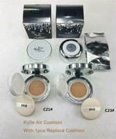 12pcs/ doz bb wear - KYLIE Air Cushion XP BB Foundation Cream highlighter makeup kylie jenner concealer Whitening with Free Ship Free Gift