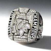 Anillo del campeonato de Chicago Blackhawks 2010, anillos modificados para requisitos particulares, anillo de los hombres, joyería del deporte del hockey