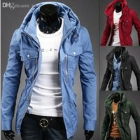 Wholesale Fall Mens Jackets Winter Outwear Men s Coats Casual Jacket Fit Style Designer Casual Jacket Man Colors M XXL