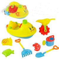 Wholesale Large children s beach toys hourglass baby play house boat beach toys educational toy