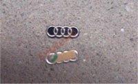 Wholesale Oem Emblems Aluminum Genuine Car LOGO Folding Keys Emblem Badge key vw key top