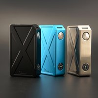 Wholesale Tesla Invader III W Box Mod Original Tesla invader Electronic Cigarette in Series fit two battery Atomizers