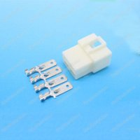 electrical plugs and sockets - 5 sets mm Way pin Electrical Connector Male and Female socket plug for Motorcycle Car etc