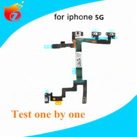 Wholesale Original Quality For iPhone G SWitch Power ON OFF Button Flex Cable Ribbon Replacement Repair Parts