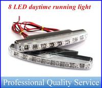 Wholesale LED Daytime Running Lights Super Bright Light Bar Parking Fog Strobe Lamp V DC Headlight Universal type ATP022