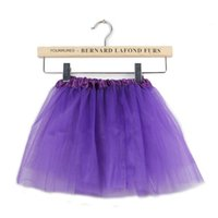 Wholesale Baby Girls Dress Candy Color Kids Tutus Skirt Dance Dresses Soft TuTu Dress Ballet Skirt Girls Children Pettiskirt Clothes