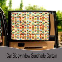 Wholesale Car Window Sun Protection Car Cartoon Curtain Sunshade Curtain cm High Quality Car Side Window Curtain