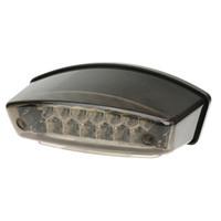 Wholesale 12V LEDs Universal Motorcycle E Bike in Rear Tail Brake Stop Running Light License Plate Lamp K4200