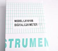 Wholesale Light Meter range LX B Digital Meter Digital illuminance meter Lux photometer exposure remote control