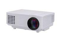 Wholesale 800 Lumens Mini Portable Home Theater LCD LED Projector AV VGA USB HDMI Black White