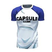 ball corp - Dragon Ball resurreccion t shirt moda Capsulf Corp cartas camisetas camisetas adolescentes troncos camiseta tee shirts Casual