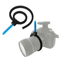 Flexible Zoom Lens Cinturón de Anillo Seguir el enfoque w / Metal Grip mano para DSLR Cámara Nikon Cannon 5D2 5D3 al por mayor