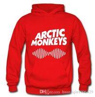 band pullover hoodies - Arctic Monkeys Am Logo Soundwave Hooded Top Music Band Rock Punk Pullover Hoody Hoodie Hood Sweat shirt
