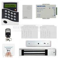 bells door lock - DIY Remote Control RFID KHz Keypad Door Access Control System Kit Electric Magnetic Lock Door Bell
