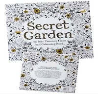 Wholesale Coloring Book Secret Garden An Inky Treasure Hunt And Coloring Book English Version Of Color In The Painting The Gifts For Children