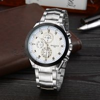 band copper - Luxury Simple Sporty Alloy Shell With Copper Dial Round Steel Band Badace Quartz Watch For Men
