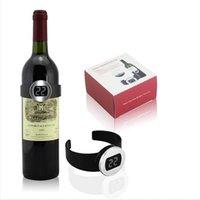 Nouveau et de haute qualité vin de température électronique vin étiquette vin thermomètre électronique de mesure de la température du vin de boisson