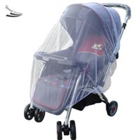Wholesale New Infants Baby Stroller Pushchair Mosquito Insect Net Safe Mesh White Buggy Cover Mesh Netting