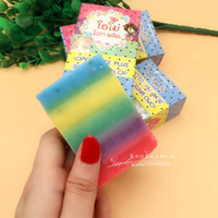 Wholesale 2016 New Arrivals OMO White Plus Soap fruitamin soap Mix Color Plus Five Bleached White Skin Gluta Rainbow Soap