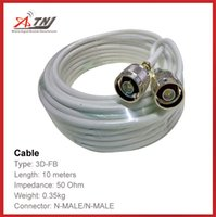 Wholesale New Arrival Top Quality ATNJ D FB RG58 m N Male N Male Coaxial Cable