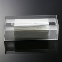 acrylic tissue holder - Grind arenaceous Plastic Tool Storage Boxes New Arrival Acrylic Clear Tissue Box Transparent Cover Rectangular Holder Size Storage Case