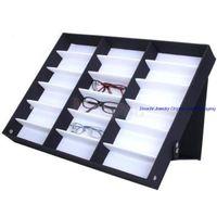 Wholesale Fashion Sunglass Glasses Optical Frames Tray Bulk Price durable Storage Display Case Box for Eyeglass