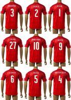 2016 Austria Euro Fútbol Local Visitante camisas Tailandia maillot de fútbol Ozcan Junuzovic Dragovic Hinteregger Fuchs Okotie Arnautovic