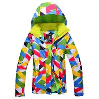 Wholesale New Outdoor Winter Warm Ski jacket Women ski jacket Waterproof windproof Mountaineers
