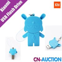 Wholesale Original Xiaomi Mi Rabbit GB USB in Micro USB USB Flash Drive for Mobile Phone Cell Phone USB Pendrive Pen Drives Free Ship