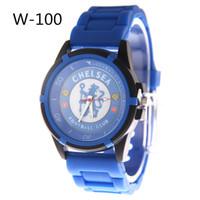 al por mayor club 29-Carnival 14 Football Club Relojes Hombres World Cup Fans Suministros de diseño Reloj de silicona Deportes Reloj de pulsera Masculino