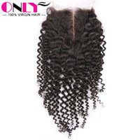 Wholesale Brazilian Kinky Curly Hair With Closure Virgin Brazilian Kinky Curl Virgin Hair Bundles With Closure Kinky Curly Virgin Hair With Closure
