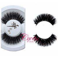 Wholesale Y thick mink eyelashes luxurious Real Mink Long Cross False eyelash Daily fake eye lashes