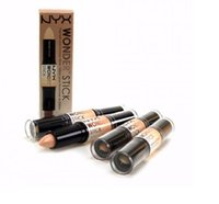 Wholesale Double ended Makeup concealer Wonder stick highlighter and contour NYX shade stick for face brightening and Camouflage