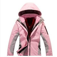Wholesale Hot Winter Ms outdoor sports waterproof windproof breathable warm ski suit jacket mountaineering camping