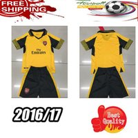 arsenal boy - 2016 kids Arsenal Away home RD Jerseys WILSHERE OZIL WALCOTT RAMSEY ALEXIS shirt
