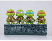 Wholesale ninja turtle Action Figure doll toys Decoration model toy PVC Minifigure Model toys classic toys for children