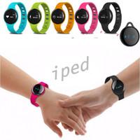 Bracelet Bluetooth Heart Rate Wearable intelligent podomètre Wristband poignet H8 Fitness Tracker intelligent Band pour Android IOS téléphone intelligent 10pcs DHL
