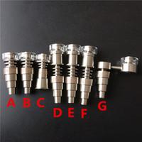 Wholesale Quartz Enail Quartz Hybrid Titanium Nail Joint10mm mm mm Female and Male Highly Educated fit mm mm mm mm Enail Coil