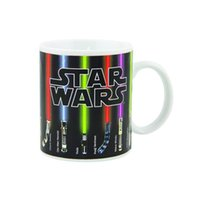 Wholesale Star Wars Lightsaber Heat Chage Mug Sabers Beam up with Hot Liquid Added Not Dishwasher or Microwave Safe Standard fl oz