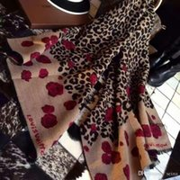 Wholesale 2016 women fashionable brand designer floral scarves stoles cashmere shawls leopard scarf new echarpes femininas scarfs foulard