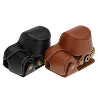 Wholesale Camera bag case lightweight PU leather Camera Bag Case Cover Pouch for Sony A6000 NEX a5000 a5100 NEX N Camera