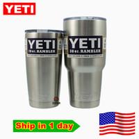 insulation - Yeti oz Rambler Tumbler Bilayer Stainless Steel Insulation Cup OZ Cups Cars Beer Mug Large Capacity Mug Tumblerful