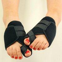 Wholesale New Useful Toe Separators Spacer Straightener for Night Use Shoes Eva Foam Foot Finger Corrector Pair