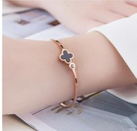 Wholesale never lose style platinum stainless steel forever lovers screw bangle bracelet include Box and card bag